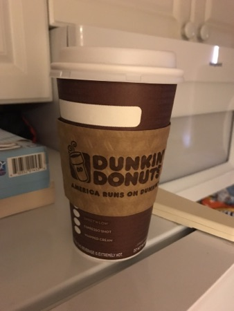 Dunkin' Donuts Giant Inflatable Coffee Cup