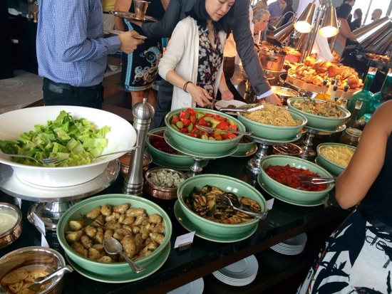 Sunday brunch at the rainbow room new york thedibb for Anoush middle eastern cuisine north york