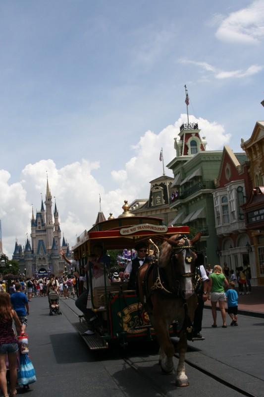 Disney Cruise Ship Engine Room: Main Street Vehicles