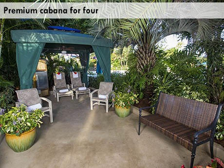 Private Cabanas Thedibb