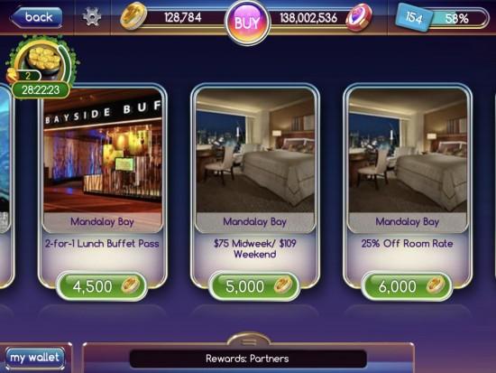 myvegas slots rewards sold out