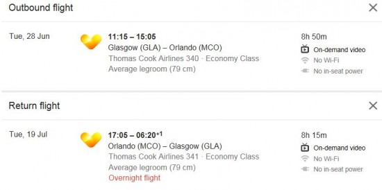 Thomas Cook Hifly:And this years plane will be **OLCI