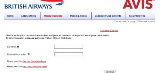 Avis And Ba Upgrading Car Hire Check Your Price Before