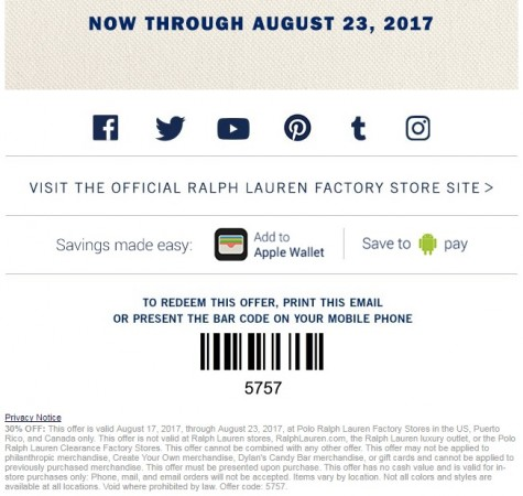 2018 sneakers the sale of shoes classic style Ralph Lauren Outlet Additional Discount! - theDIBB