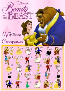 picture relating to Disney Countdown Calendar Printable named 30 Working day Disney Countdown Calendars - theDIBB