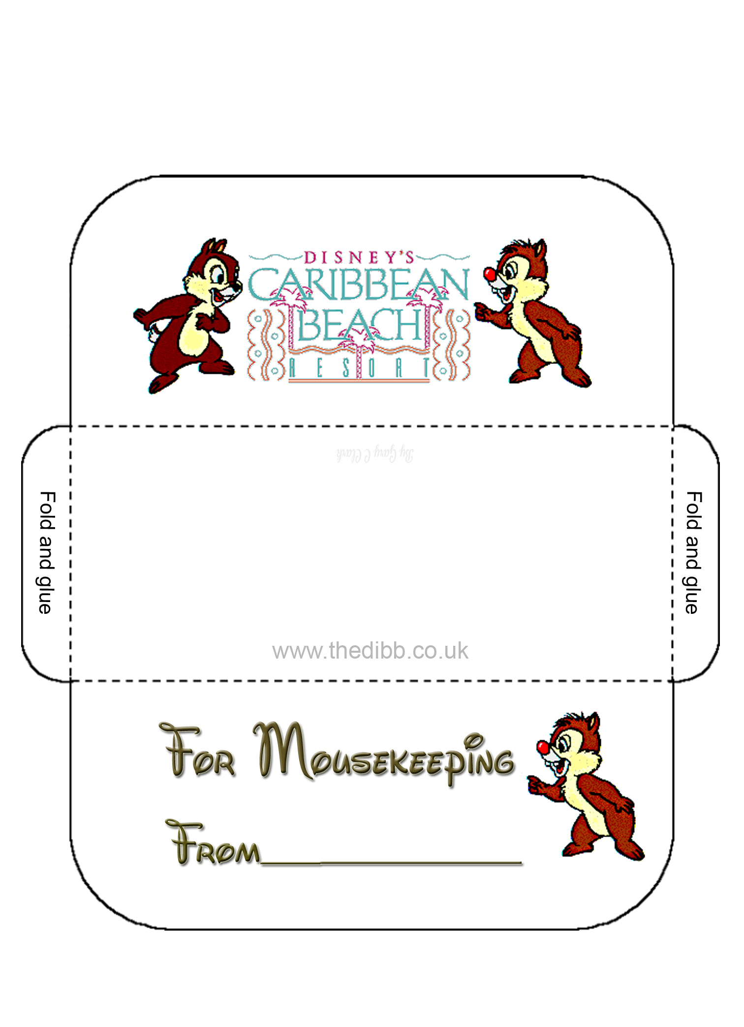 Declarative image inside disney printable envelopes